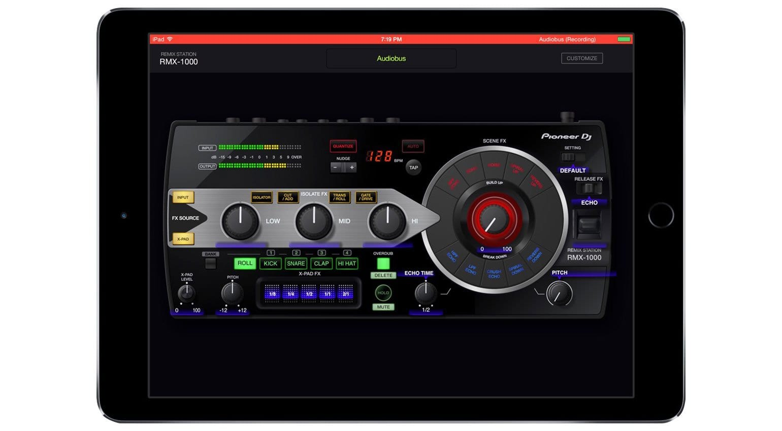 Pioneer brings live effect performance to the iPad
