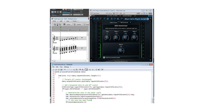 Blue Cat Audio's Plug'n Script updated to version 2