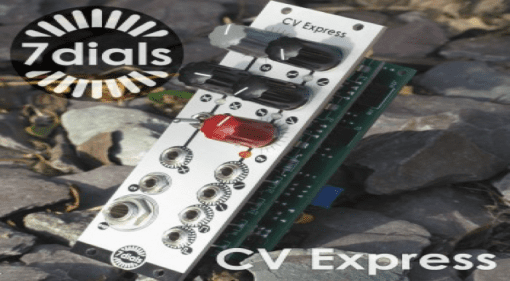 7 dials CV Express DIY Kit: A crazy new module for synth geeks