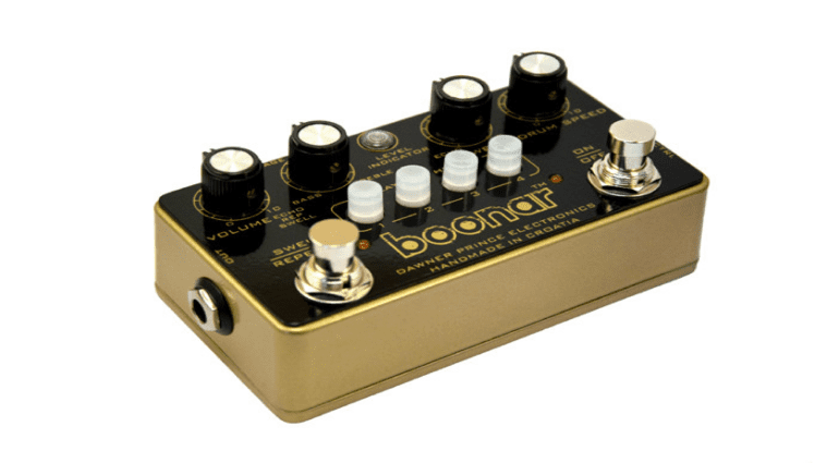 Boonar Multi Drum Head Echo Pedal