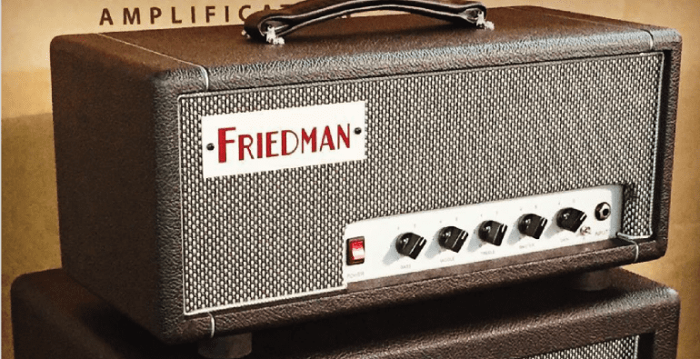 Limited edition Dirty Shirley Amp by Dave Friedman