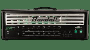 New KH103 Kirk Hammett Signature head from Randall Amps
