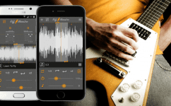 So IK Multimedia have just announced a new iOS & Android compatible software app for showing you how to play you favourite guitar riffs. You load up your favourite tracks and their new software will show you the chords.