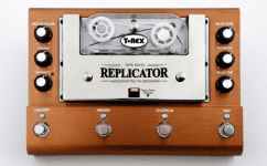 After a long wait the brand new T Rex Replicator Tape Delay has finally been released. So how will this old school technology fit into a modern world?