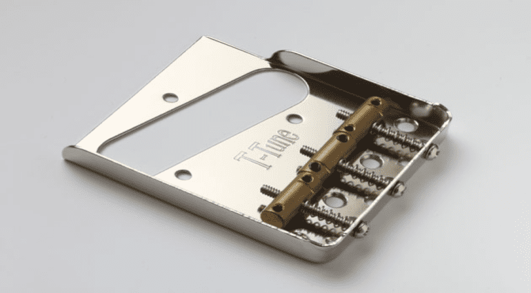 As a logical follow-up to their new Intonation- Compensated 'Harmonic Bridge Saddles' they have now announced a range of Telecaster Bridge Plates to go with them It all sounds a bit like 'snake oil' to me and I am not convinced this would have much affect on a Telecasters amplified sound.