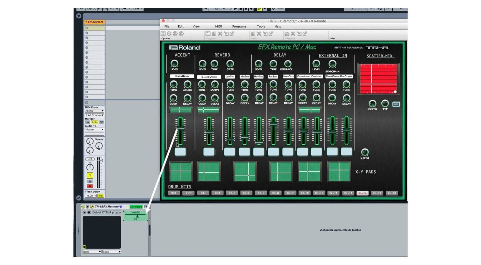 Roland AIRA TR-8 MIDI editor lets you control the hardware from your