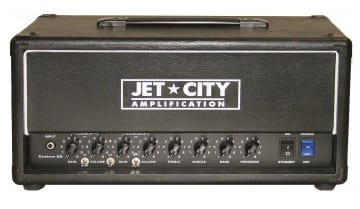This new Jet City Custom 22 is a re-working of an earlier model from a few years back, this time it has been tweaked by Martin Kidd. Martin is famous for his UK based Cornford amp designs and nowadays Victory Amps.