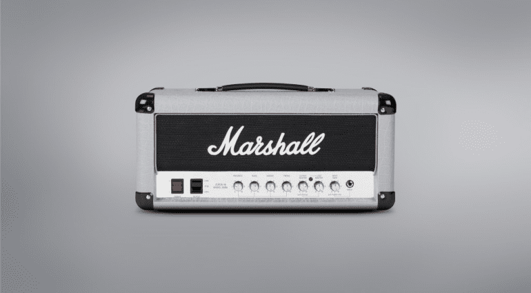 Marshall Jubilee Head Combo Silver Series Mini Reissue