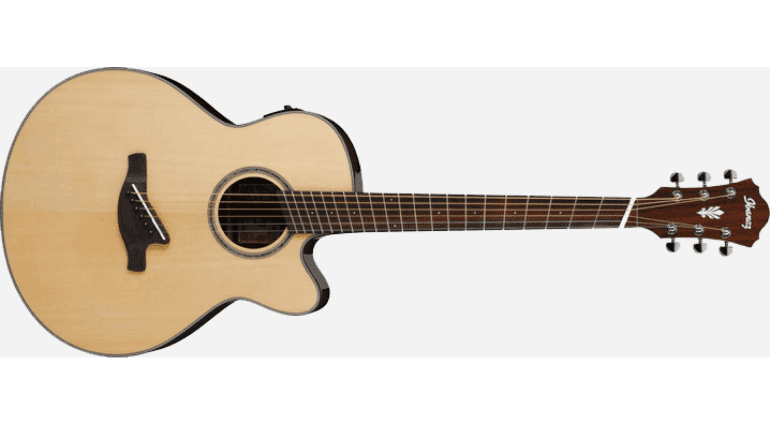Made out of Rosewood and Sitka spruce using their thin AEL body this is made for the guitarist who wants the best possible live performance out of their guitar. Hence why they also included the powerful Fishman Sonicore pickup and Ibanez AEQ-SP2 preamp.