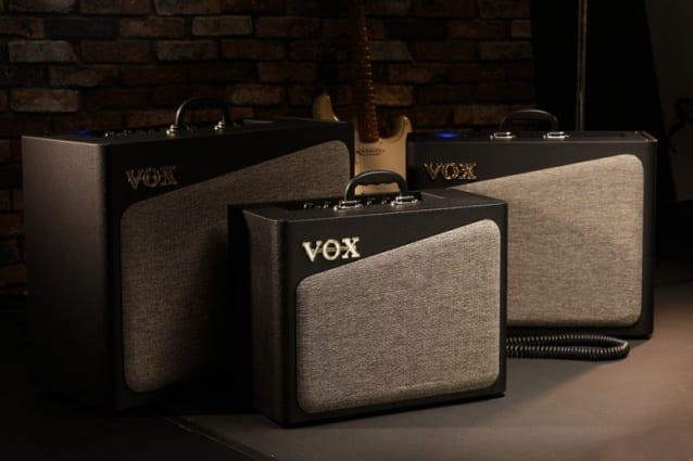 New for NAMM Show 2016 Vox AV Series amps