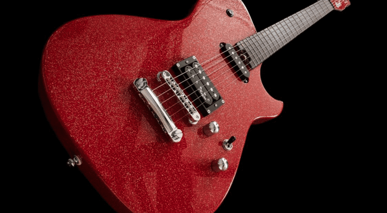 Manson Guitar Works / Cort Red Sparkle MBC-1