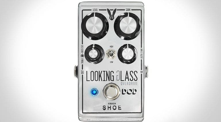 DOD Looking Glass FET Class A SHOE Over Drive pedal