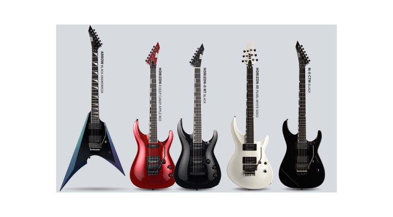 ESP and LTD 2016 NAMM Show releases.