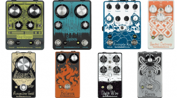 arthquaker Devices are launching eight new pedals in 2016. Not all of them will be available straight away and one of them may not even be ready for the NAMM Show next week!