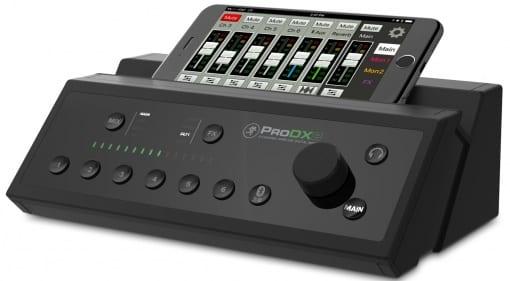 Mackie ProDX8 mixer front