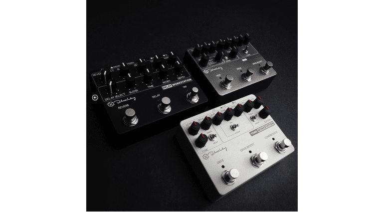 New four in one Keeley effect pedal range new 2016