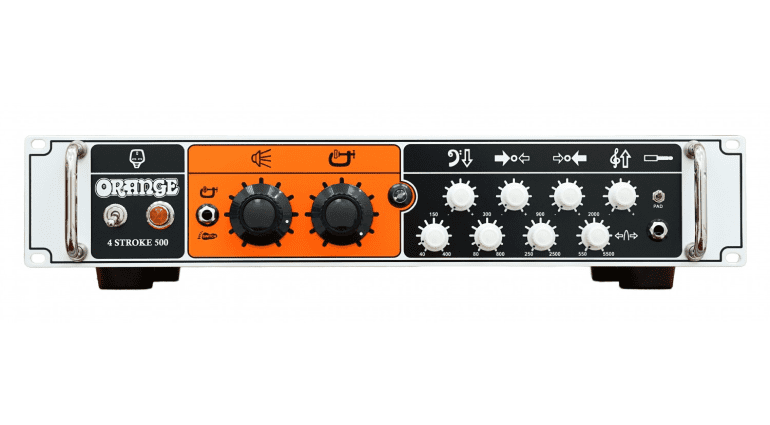 Orange 4 Stroke bass head 500 watts solid state parametric EQ