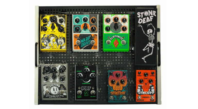 Stone Deaf FX are probably best known for their effects pedal range. This year they have added five new effect pedals and a brand new range of valve amps as well.