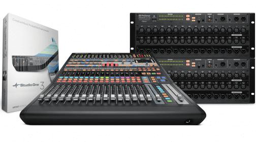Presonus AVB mix system NAMM