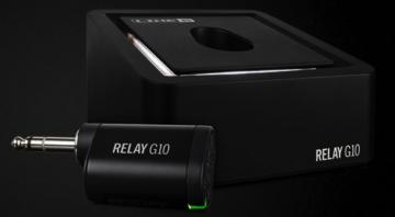 NAMM 2016 Line 6 G10 Relay 24 bit Digital wireless transmitter