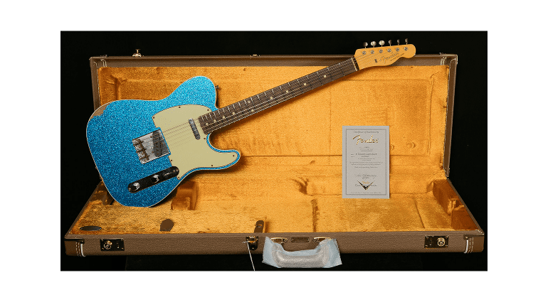 New relic finish guitars from Fender CS