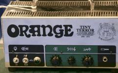 Tiny Terror 10th Anniversary Custom Shop Limited Edition hand wired head News, Guitar, Orange , cab, edition, head, limited, NAMM 2016, Orange