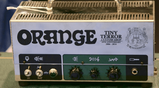 Tiny Terror 10th Anniversary Custom Shop Limited Edition hand wired head News, Guitar, Orange , cab, edition, head, limited, NAMM 2016, Orange