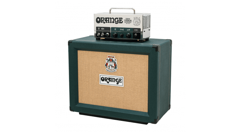 Orange Tiny Terror head Celestion G10 10