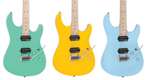 For this years NAMM Show Vintage Guitars are launching a new range of 'modern' guitars called V6M24