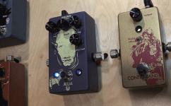 NAMM 2016 Walrus Audio Fuzz and Chorus Tremolo pedal
