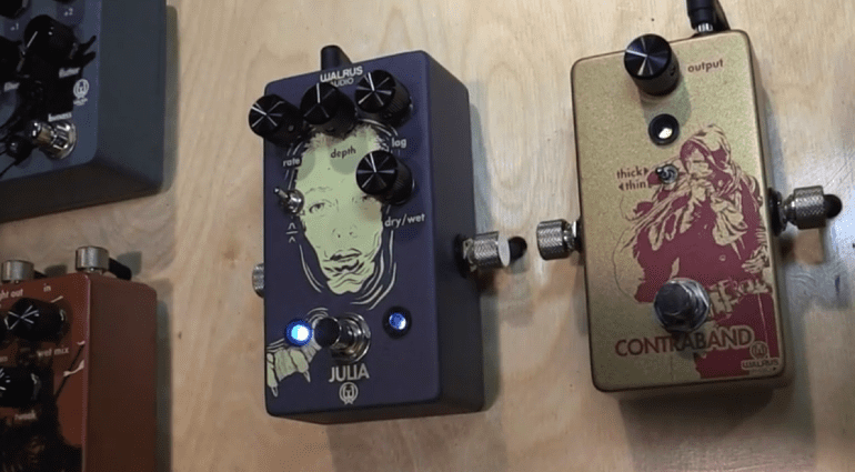 NAMM 2016 Walrus Audio Fuzz and Chorus Tremolo pedal