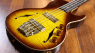 B&G Big Sister four string bass with hand cast brass hardware