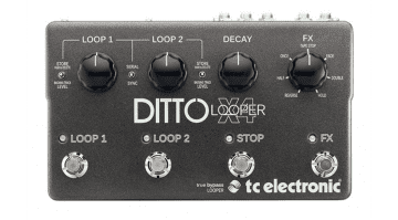 TC Electronics DittoX4 Looper pedal MIDI sync USB Looper