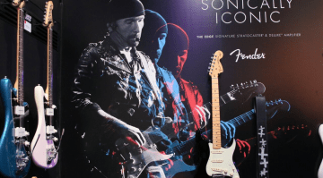Fender The Edge Signature Stratocaster NAMM 2016