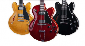 Gibson Memphis have announced the new 2016 line up for all their semi hollow bodied ranges this week