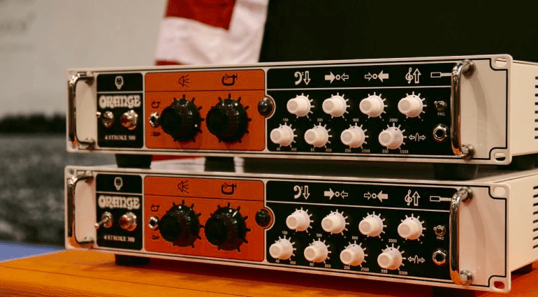 Orange 4 Stroke Bass head 500 Watts NAMM 2016