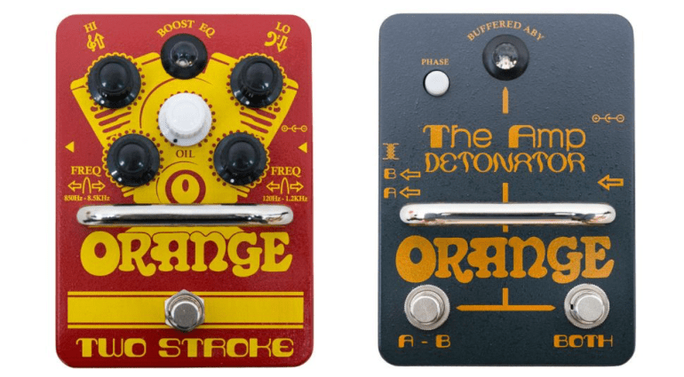 New pedals from Orange Amps