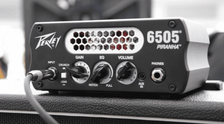 12ax7, valve LED, Mini head Peavey Piranha