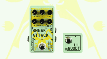 Malekko Sneak Attack Lil Buddy Attack / Decay envelope generator VCA Tap Tempo heavy industry corporation