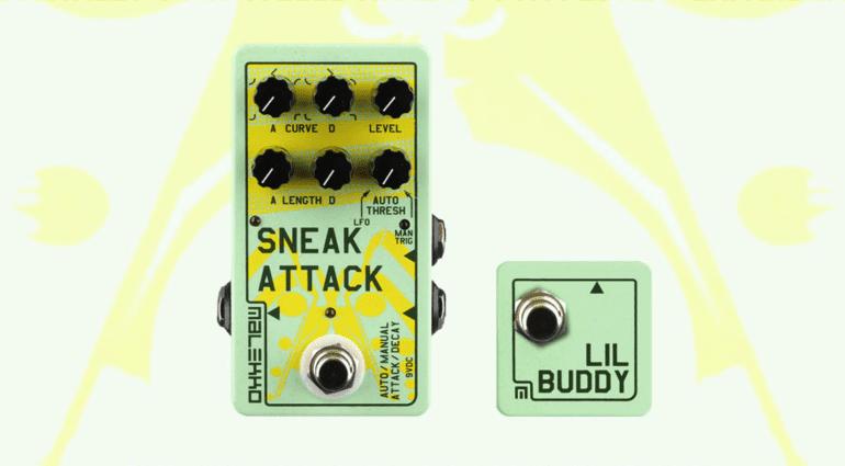 Malekko Sneak Attack Lil Buddy Attack / Decay envelope generator VCA Tap Tempo heavy industry corporation