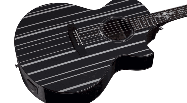 Schecter Synyster Acoustic SYN-AC-GA-SC NAMM