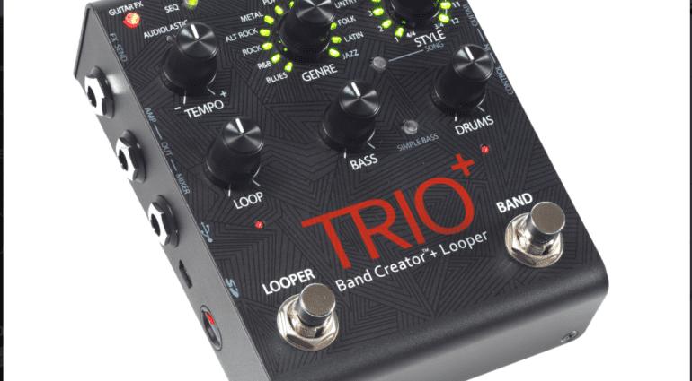 NAMM 2016: Digitech Trio+ Band Creator Looper pedal