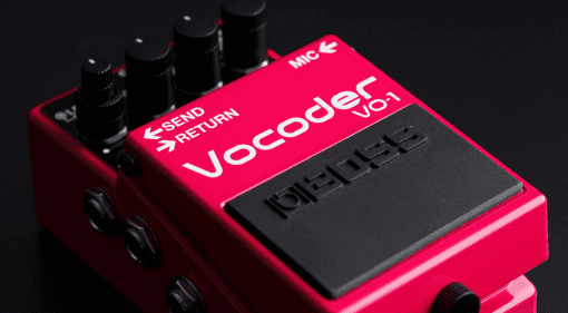 vocoder pedal format voice talk box Boss VO-1