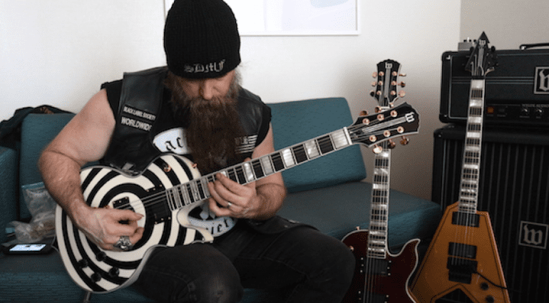 Zakk Wylde, Wylde Audio NAMM announcement Black Label Society Black Sabbath