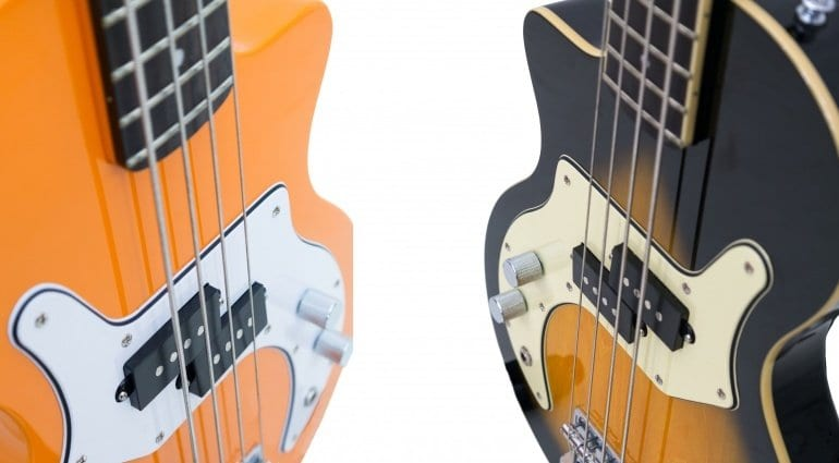 Orange O Bass NAMM 2016 new 4 string split hum bucking pickup