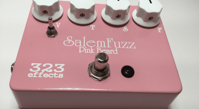 Pure Salem Guitars 323 Effects Fuzz pedals 2016 limited run of 250