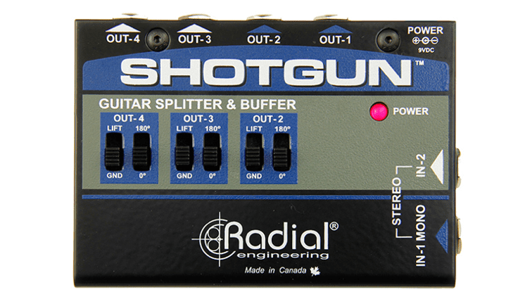 Radial Engineering Shotgun amplifier splitter