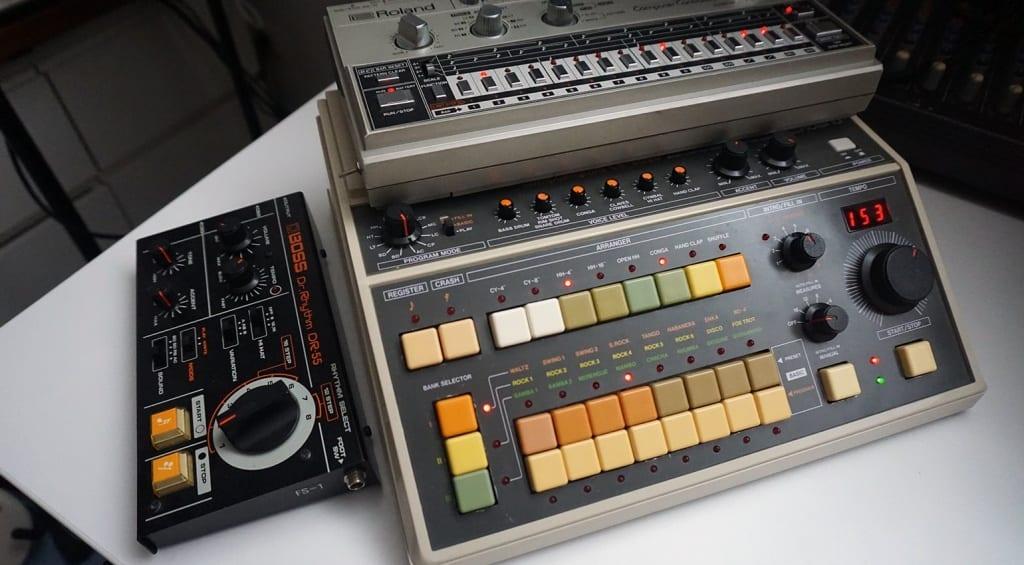 Roland TR-8 expansion TR-606 CR-8000 DR-55