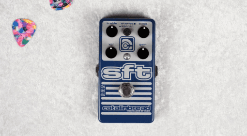Catalinbread SFT Amped Stones Stoner pedal drive dirt fuzz baxandall tone stack