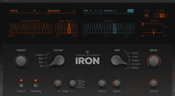 IRON VST AU virtual guitar plugin DAW
